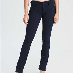 Dark Navy Blue Chino Pants